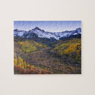 USA, Colorado, Rocky Mountains, San Juan Jigsaw Puzzle