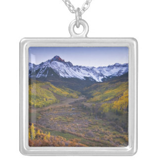 USA, Colorado, Rocky Mountains, San Juan Silver Plated Necklace