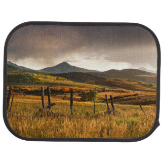USA, Colorado, San Juan Mountains Car Mat