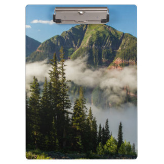 USA, Colorado, San Juan Mountains. Clearing Clipboards