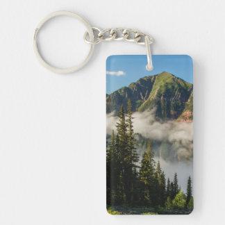 USA, Colorado, San Juan Mountains. Clearing Key Ring