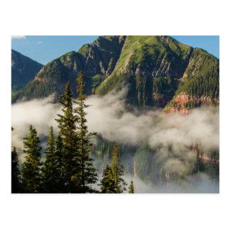 USA, Colorado, San Juan Mountains. Clearing Postcard