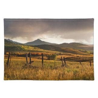 USA, Colorado, San Juan Mountains Placemat