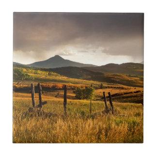 USA, Colorado, San Juan Mountains Tile