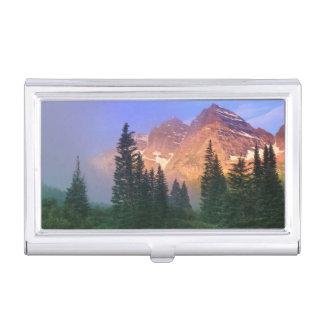 USA, Colorado, Snowmass Wilderness Business Card Holder