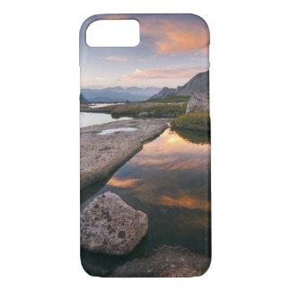 USA Colorado, stenigt berg NP.  Soluppgång in iPhone 8/7 Case