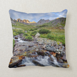 USA, Colorado. Sunrise On Stream 2 Cushion
