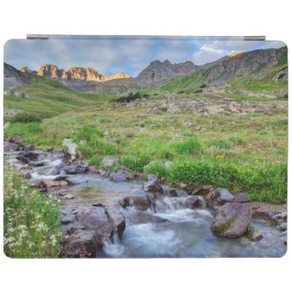 USA, Colorado. Sunrise On Stream iPad Cover