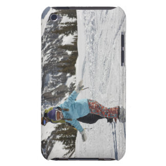 USA, Colorado, Telluride, Father and daughter 2 iPod Case-Mate Case