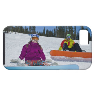 USA, Colorado, Telluride, Father and daughter 3 iPhone 5 Cover