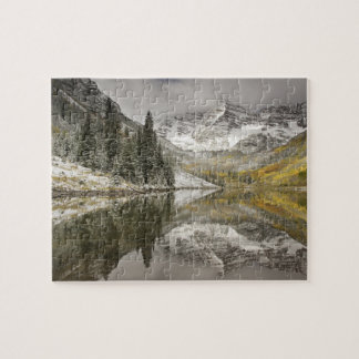 USA, Colorado, White River National Forest, Jigsaw Puzzle