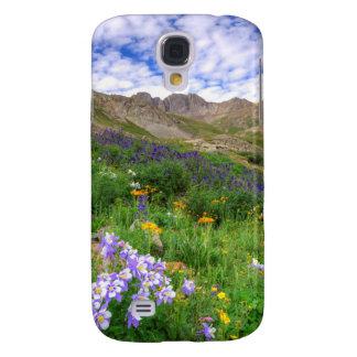 USA, Colorado. Wildflowers In American Basin Galaxy S4 Case