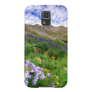 USA, Colorado. Wildflowers In American Basin Galaxy S5 Covers