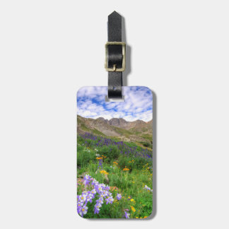 USA, Colorado. Wildflowers In American Basin Luggage Tag