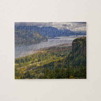 USA, Columbia River Gorge Jigsaw Puzzle