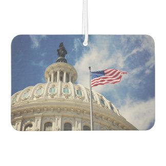 USA, Columbia, Washington DC, Capitol Building Car Air Freshener