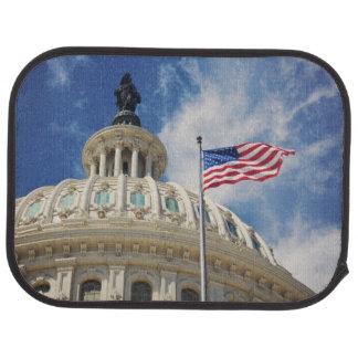 USA, Columbia, Washington DC, Capitol Building Car Mat