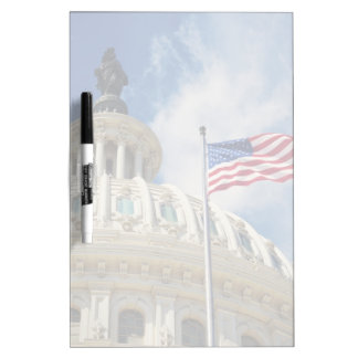 USA, Columbia, Washington DC, Capitol Building Dry Erase Board