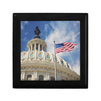 USA, Columbia, Washington DC, Capitol Building Gift Box