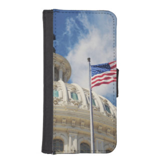 USA, Columbia, Washington DC, Capitol Building iPhone SE/5/5s Wallet Case