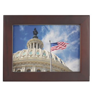 USA, Columbia, Washington DC, Capitol Building Keepsake Box