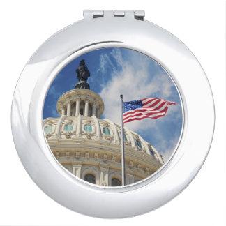 USA, Columbia, Washington DC, Capitol Building Makeup Mirrors