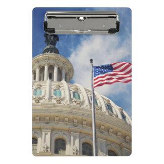 USA, Columbia, Washington DC, Capitol Building Mini Clipboard