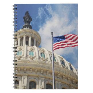 USA, Columbia, Washington DC, Capitol Building Notebook