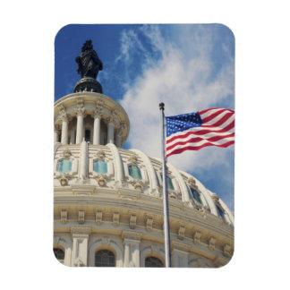 USA, Columbia, Washington DC, Capitol Building Rectangular Photo Magnet