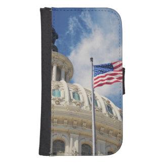 USA, Columbia, Washington DC, Capitol Building Samsung S4 Wallet Case