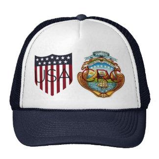 USA - Costa Rican Shield Hat