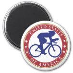 USA Cycling Magnet