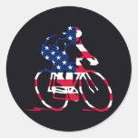USA Cyclist Stickers