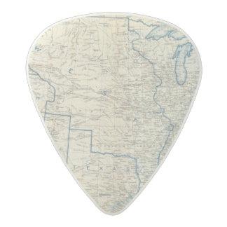 USA Dec 1860 Acetal Guitar Pick