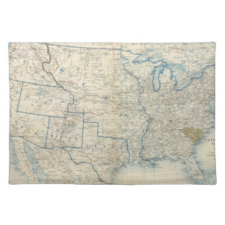 USA Dec 1860 Placemat