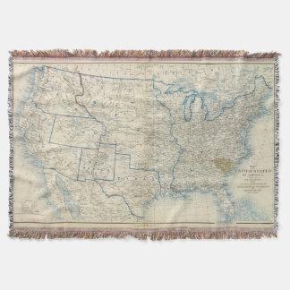 USA Dec 1860 Throw Blanket
