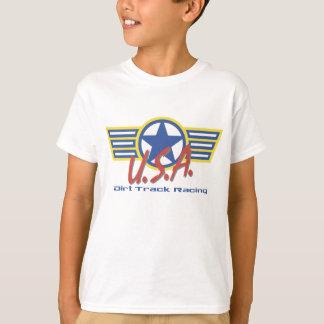 USA Dirt Track Pit Crew T-Shirt