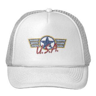 USA distressed hat