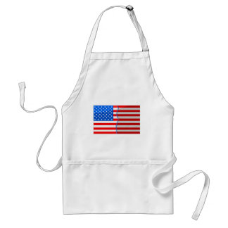 USA divided and stitched back up Apron