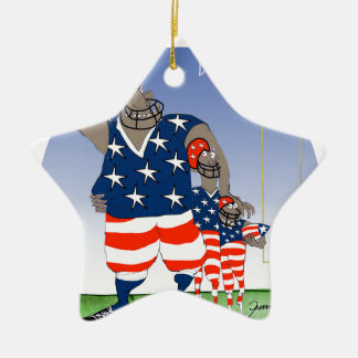 USA dream team, tony fernandes Ceramic Star Decoration