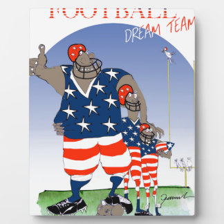 USA dream team, tony fernandes Display Plaque