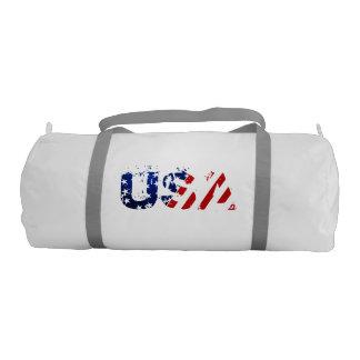 USA Duffle Gym Bag Gym Duffel Bag