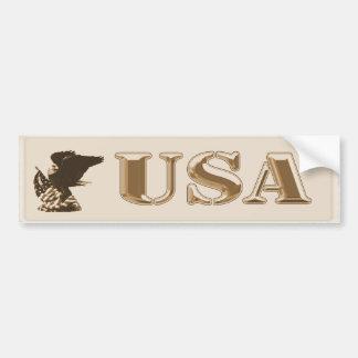 USA Eagle Bumper Sticker