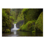 USA, Eagle Creek, Columbia Gorge, Oregon. 3 Poster