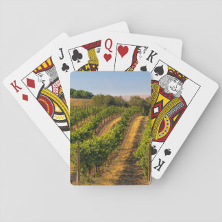 USA, Eastern Washington, Walla Walla Vineyards Playing Cards
