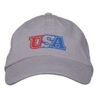 Usa Embroidered Hat