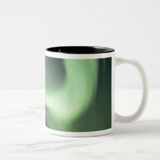 USA, Fairbanks area, Central Alaska, Aurora 2 Two-Tone Coffee Mug