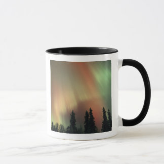 USA, Fairbanks area, Central Alaska, Aurora 3 Mug