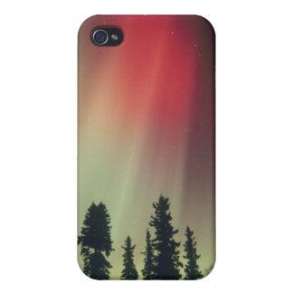 USA, Fairbanks area, Central Alaska, Aurora Cover For iPhone 4