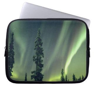USA, Fairbanks area, Central Alaska, Aurora Laptop Sleeve